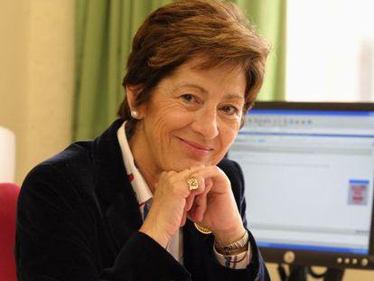 Mari Carmen Gallastegui, doctora de Ciencias Económicas de la UPV.