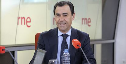 Fernández Maillo antes de la entrevista de este martes.