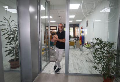 Jose Antonio Expósito, director del IES Las Musas (Madrid), uno de los centros de la élite educativa de la capital.