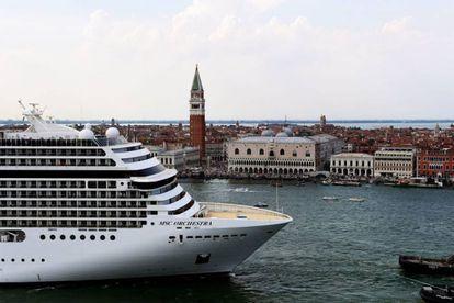 Un crucero en Venecia, 3 de junio.