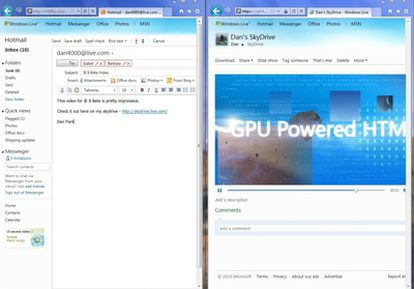 Imagen del Internet Explorer 9.
