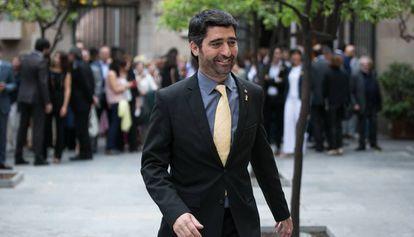 El consejero de Políticas Digitales y Administración Pública, Jordi Puigneró, en una imagen de archivo.