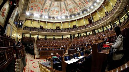 Debate de los Presupuestos Generales del Estado en el Congreso de los Diputados.
