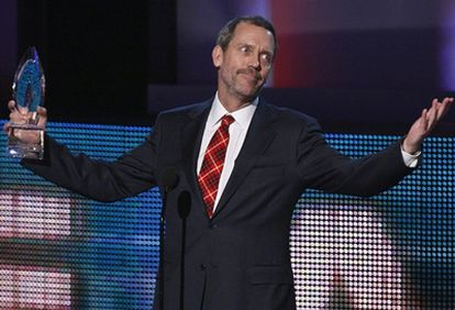 Hugh Laurie en una imagen de enero de 2010