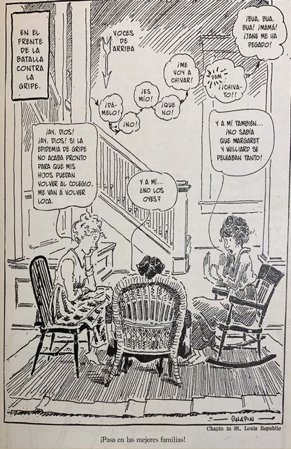 Cartoon from 'Pandemic' (Flow Press).