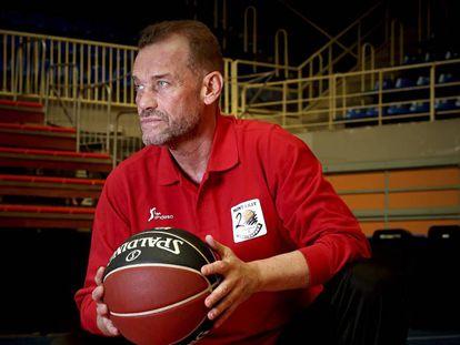 Néstor Garcia, entrenador del Fuenlabrada