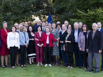 Comisionarios de la UE en Bélgica.