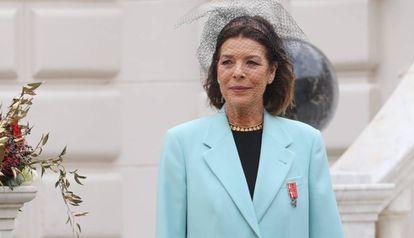 Carolina de Mónaco, en la fiesta del Principado.