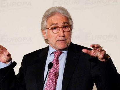 El presidente de la patronal Foment del Treball, Josep Sánchez Llibre.