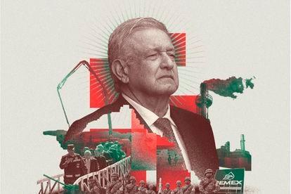Ilustración con la imagen del presidente de México, Andrés Manuel López Obrador, en la portada de la revista 'The Economist'.