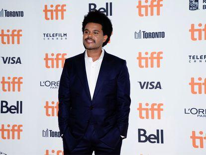 The Weeknd, en el Festival de Cine de Toronto en 2019.