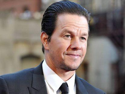 Mark Wahlberg , en el estreno de Transformers en Chicago.