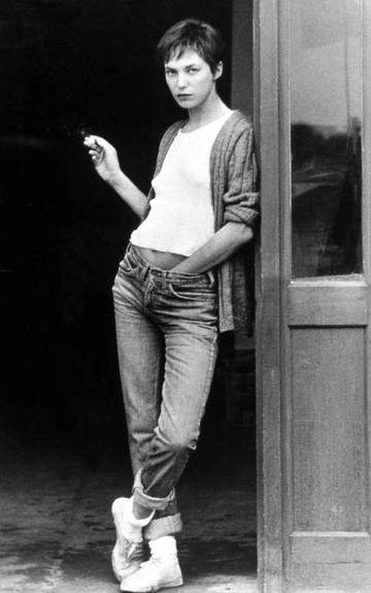 Jane Birkin en 1975.