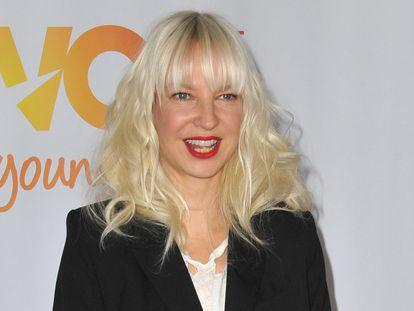 La cantante Sia, en una gala en California en diciembre de 2013.