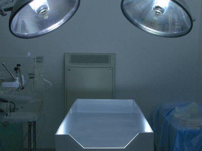 El quirófano de la empresa Alcor, en EE UU.
