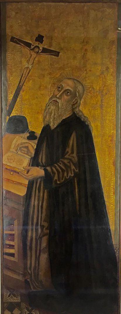 Ramon Llull, según un retablo de Joan Desí (1503).
