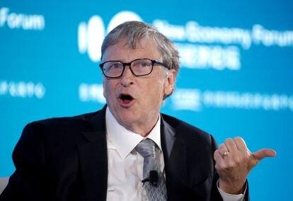 Bill Gates, durante un acto público en 2019.