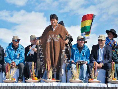 El presidente boliviano luce su intención de permanecer en el poder.