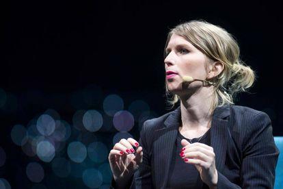 Chelsea Manning en un acto en Montreal (Canadá) en 2018.