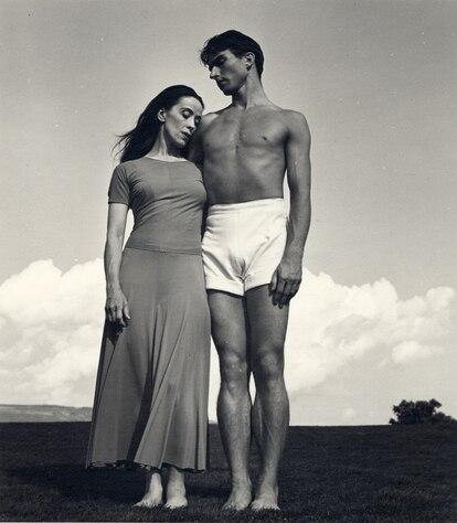 'Martha Graham y Eric Hawkins en Bennington College' (1938).