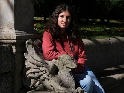 Blanca Huergo, de 18 años, estudia matemáticas y ciencias de la computación en la Universidad de Oxford.