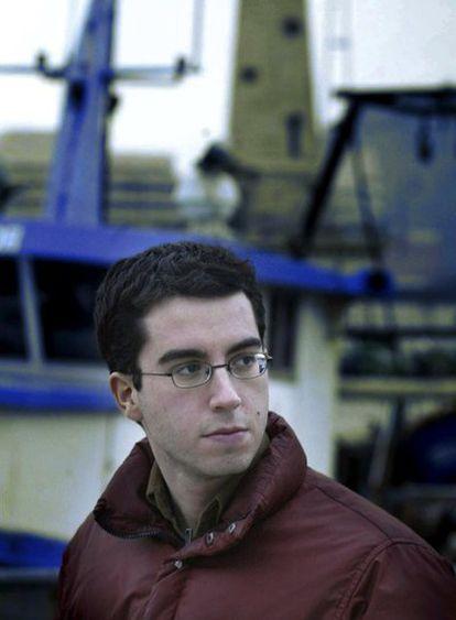 El escritor estaodunidense Jonathan Safran Foer durante una visita a Barcelona