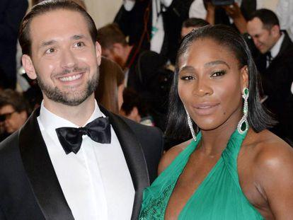 Serena Williams y su prometido Alexis Ohanian en la Gala Met en Nueva York en mayo de 2019.