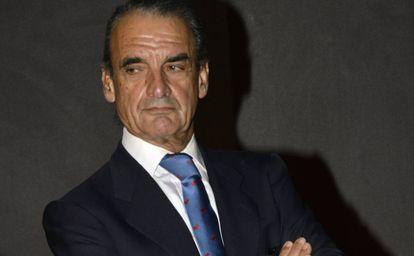 Mario Conde, en Madrid, en 2015.