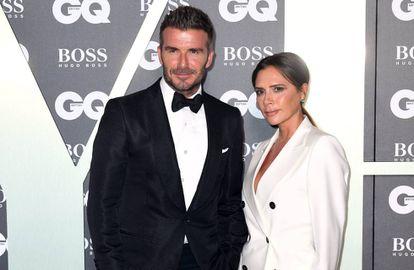 David Beckham y Victoria en un evento en Londres el pasado mes de septiembre.