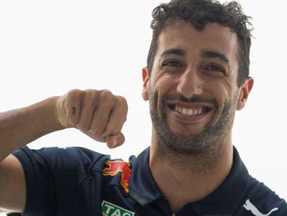 Ricciardo durante el GP de Francia.