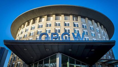 La sede de la OPAQ, en La Haya.