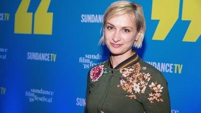 La directora de fotografía Halyna Hutchins, en la fiesta inaugural del Festival de Cine de Sundance 2018 en Park City, Utah.
