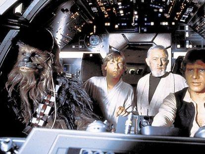 Fotograma de la película 'La guerra de las galaxias', cuyos personajes han inspirado nombres científicos.