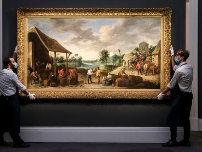 Subasta de arte antiguo de Sotheby's en Londres el pasado diciembre.