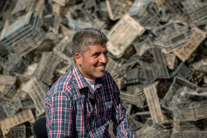 Jasem Al-Wrewir, refugiado sirio en Jordania.