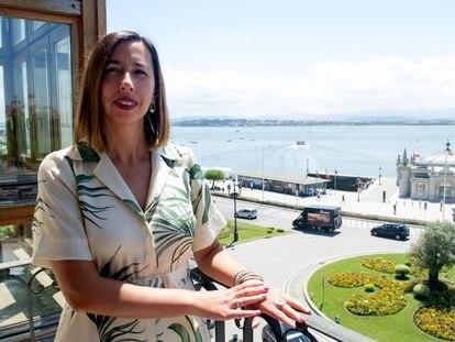 María Sánchez, consejera de Economía y Hacienda de Cantabria, el pasado jueves.
