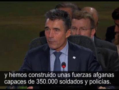 La OTAN debate sobre la situación actual de Afganistán.