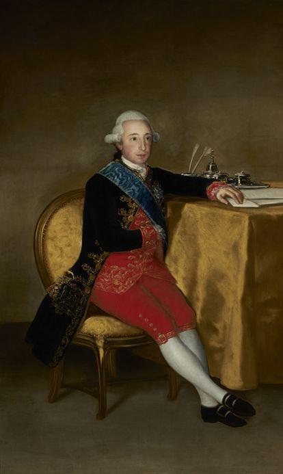 Vicente Joaquín Osorio de Moscoso y Guzmán Fernández de Córdoba y la Cerda, XIII conde de Altamira, por Francisco de Goya (1786).