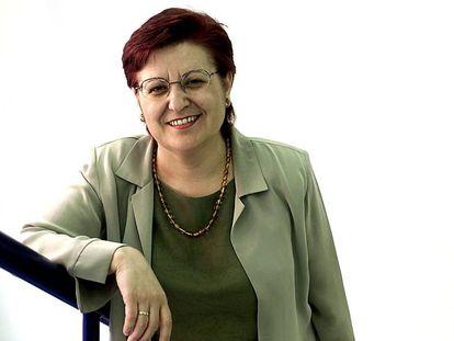 La exsecretaria general de USOC, Antònia Gil.