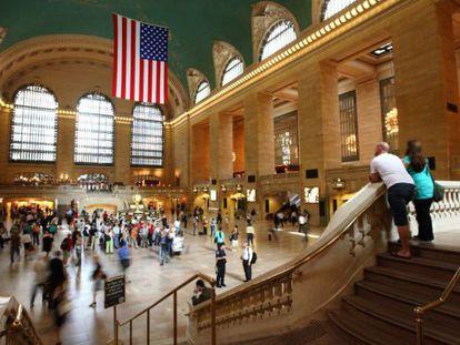 Vestíbulo de la Gran Estación Central de Nueva York.