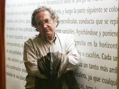 Ricardo Piglia fotografiado en Madrid.