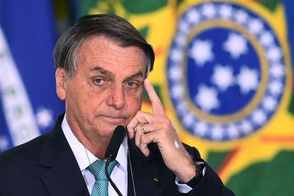 El presidente de Brasil, Jair Bolsonaro, durante un discurso el pasado 1 de junio en la capital, Brasilia.