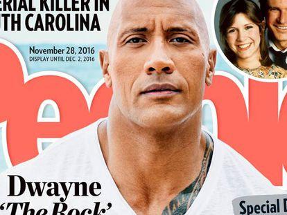Dwayne Johnson, en la portada de 'People.'