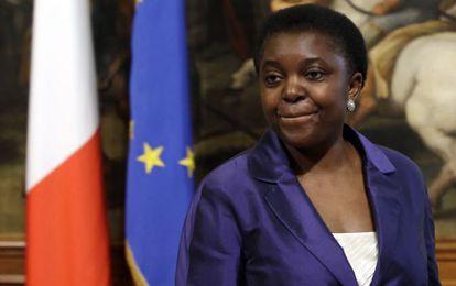 La ministra de Integración italiana el pasado abril.