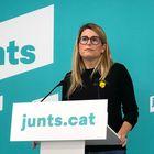 La vicepresidenta de Junts, Elsa Artadi, en rueda de prensa telemática JUNTS 03/05/2021