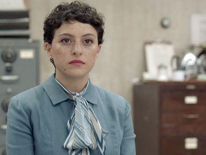 Alia Shawkat interpretando a la activista lesbiana Madeleine Tress en 'Pride', de Disney+.
