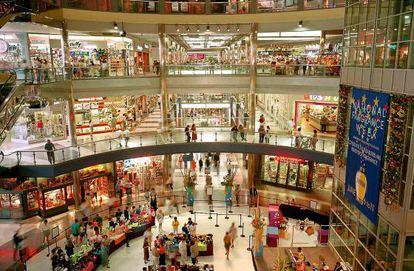 Un centro comercial en Minneapolis (EE UU).