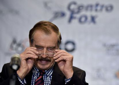 Vicente Fox, este lunes