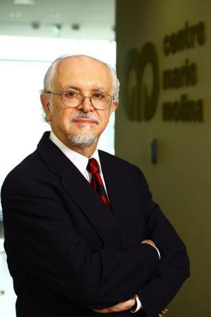 Mario Molina, en 2014.