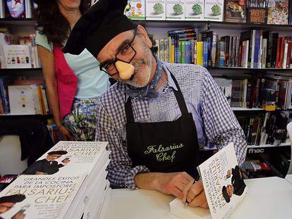 El chef Falsarius, Nacho Moreno, en 2012.